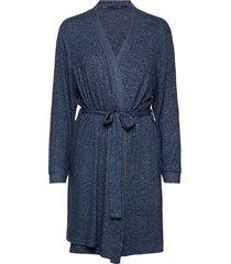 cozy robe morgonrock blå missya