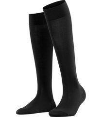 women's falke touch knee high socks, size 39/42 - black