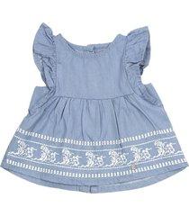 blusa natural denim azul claro ficcus