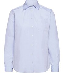 ersilia overhemd met lange mouwen blauw weekend max mara