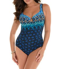 sunset cay escape one-piece swimsuit