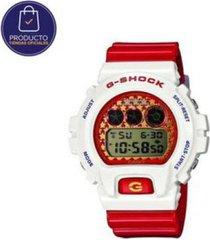 reloj g-shock modelo dw_6900sc_7 rojo hombre