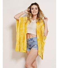 kimono amarillo nuevas historias batik 90x140 la148-31
