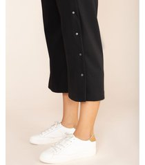 pantalón culotte con broches