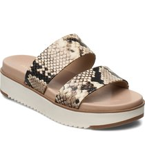 vicet shoes summer shoes flat sandals beige aldo
