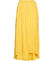 nonogarden knälång kjol gul american vintage