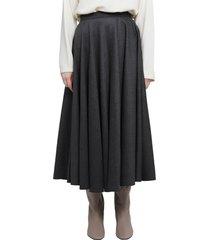 gentry portofino grey skirt