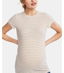 a pea in the pod maternity crew-neck t-shirt
