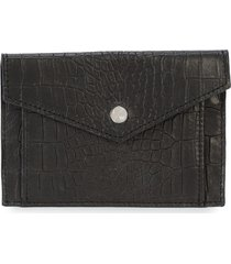 elisabeth weinstock provence textured small wallet - black