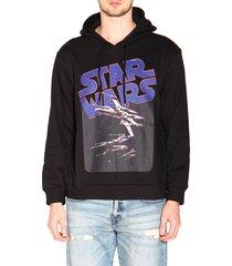 etro sweatshirt etro x star wars sweatshirt with maxi film print