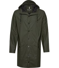 long jacket regenkleding groen rains