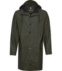 long jacket regenkleding groen rains