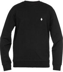 marcelo burlon cross regular sweatshirt