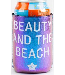 beauty and the beach koozie