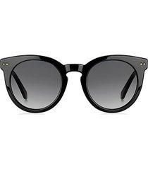 alexus 50mm round sunglasses