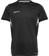 pro control impact ss tee m t-shirts short-sleeved svart craft