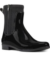 nine west cooper rain booties women's shoes