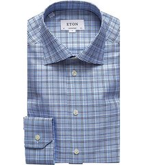 contemporary-fit textured twill dress shirt