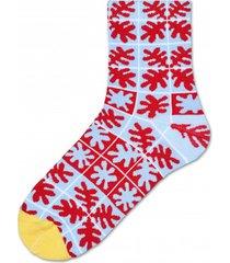 skarpetki emilia ankle sock red twig