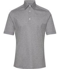 blue polo short sleeve popover shirt polos short-sleeved grå eton