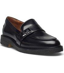 shoes a1221 loafers låga skor svart billi bi