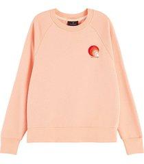 sweater various artwork roze