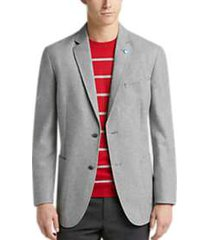 ben sherman light gray extreme slim fit sport coat