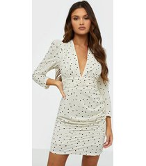 glamorous heart print dress fodralklänningar