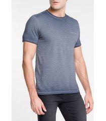 camiseta ckj mc estampa logo peito - indigo - pp