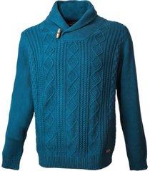 sweater cuello cruzado potros