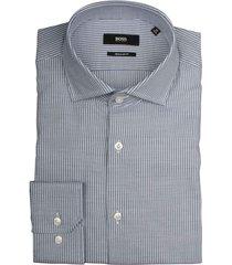 hugo boss overhemd gordon donkerblauw 50415660/402