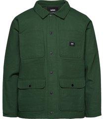 drill chore coat lined dun jack groen vans