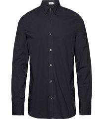 m. ben poplin shirt overhemd business zwart filippa k