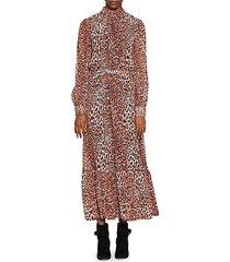 leopard nilda dress