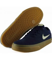 tenis azul nike sb charge suede mindnight