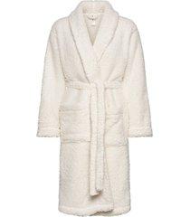 robe teddy morgonrock vit lindex