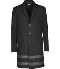 les hommes single breasted classic coat