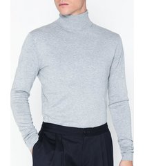 tailored originals knit - morris rollneck tröjor light grey melange