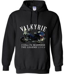 mens valkyrie 1520cc f6 madness legend motorcycle by rangertees-bn t-shirt hoodi