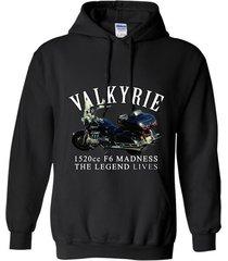 mens valkyrie 1520cc f6 madness legend motorcycle by rangertees-bn t-shirt hoodi