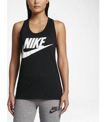 camiseta regata nike sportswear essential feminina
