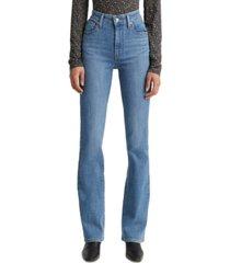 levi's 725 high-waist bootcut jeans