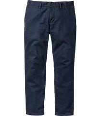 pantaloni chino regular fit straight (blu) - bpc bonprix collection