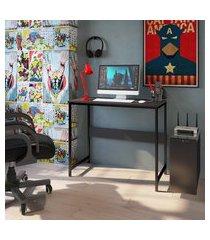 mesa para computador escrivaninha office 90cm om-001 trevalla