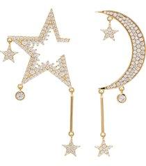 'starry night' cubic zirconia earrings