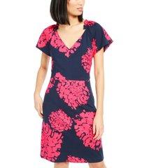 trina trina turk beckell floral-print dress