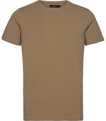 jermalink t-shirts short-sleeved brun matinique