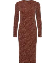 jenara dress 12821 jurk knielengte oranje samsøe samsøe