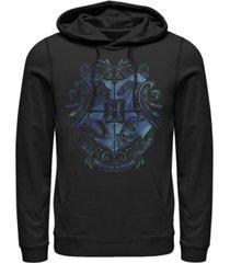 fifth sun men's deathly hallows 2 hogwarts fleece pullover hoodie