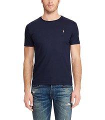 camiseta azul polo ralph lauren m classics navy